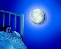 "Nachtlicht ""Moon in my room"""