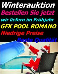 GFK Schwimmbecken swimming Pool 6,0m x 3,0m Super Angebot
