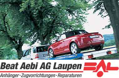 Aebi Beat AG, 3177 Laupen BE, Anh�ngervermietung, Occasionen Anh�nger, Mietanh�nger, Zugvorrichtungen