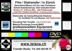 Analoge Medien  Filme Dia Bilder Audio Video  Digital auf Festplatten  DVD  MXF-Codec