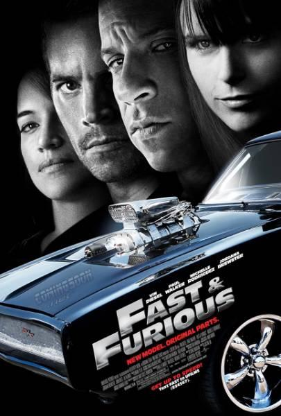 Fast & Furious 4: Neues Modell. Originalteile. (DVD - Code 2