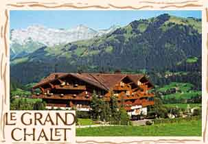 www.grandchalet.ch  Le Grand Chalet, 3780 Gstaad.
