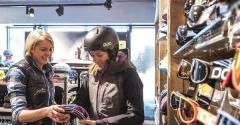 Top Quality Female Snowboard Equipment for Rent.