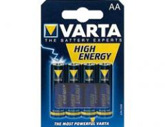 Varta High Energy Batterien AA/LR6, 4 St.