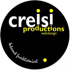 creisi productions Webdesign