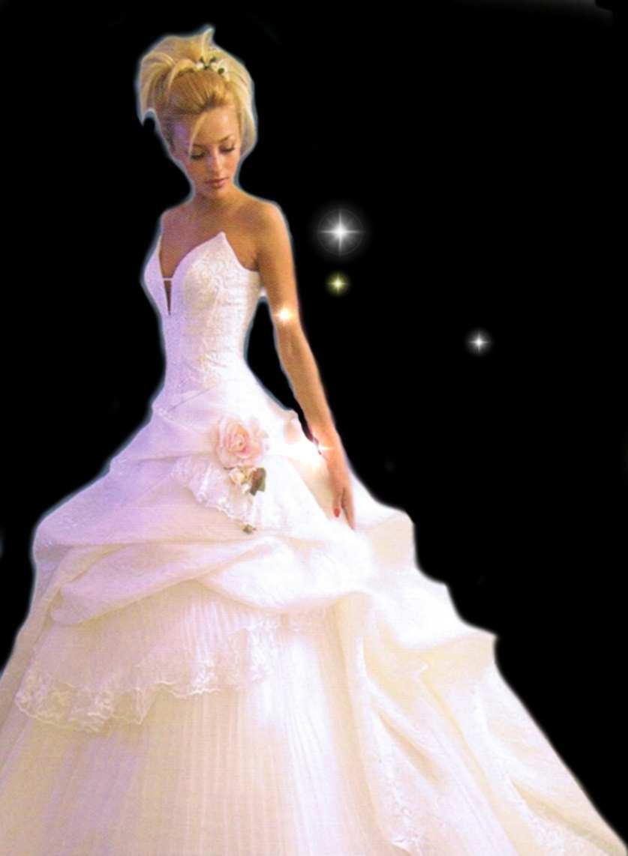 Hochzeitsmode Brautkleider Festkleider Ehe Tracht Hochzeitskleider