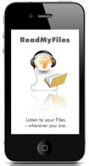 ReadMyFiles - Text-to-Speech App f�r iPhone, iPod touch