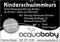 Schwimmschule acquababy