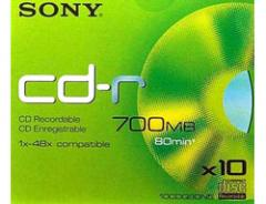Sony CD-R DATA 80 min.*